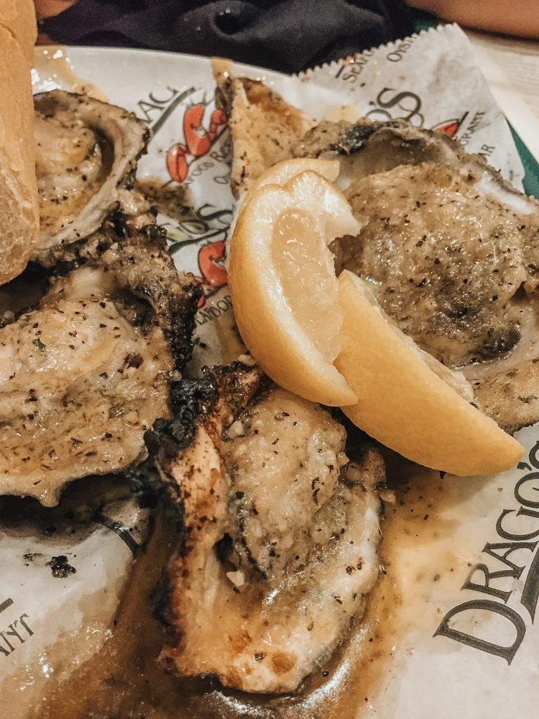 drago charbroiled oyster