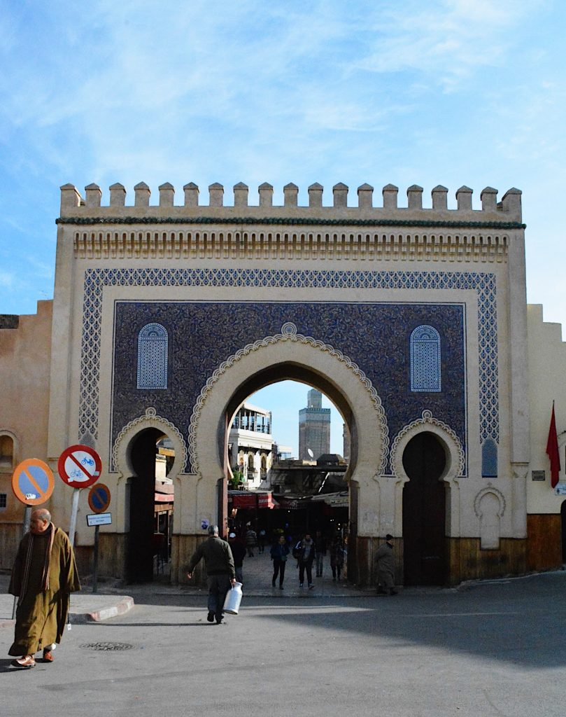 fes blue gate Morocco
