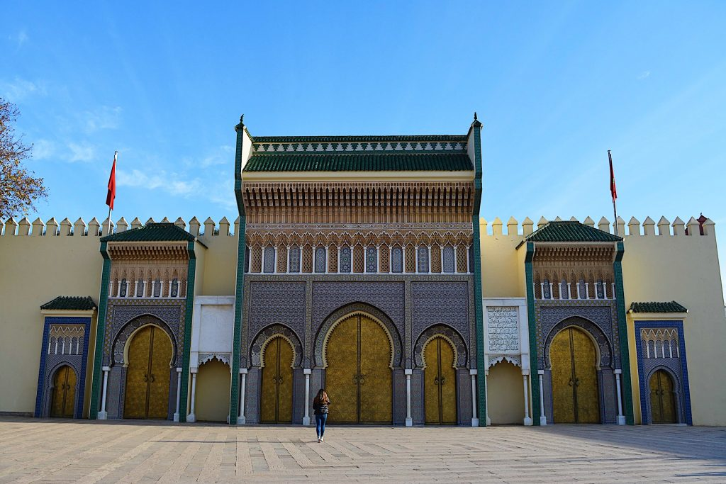 royal palace Morocco fes