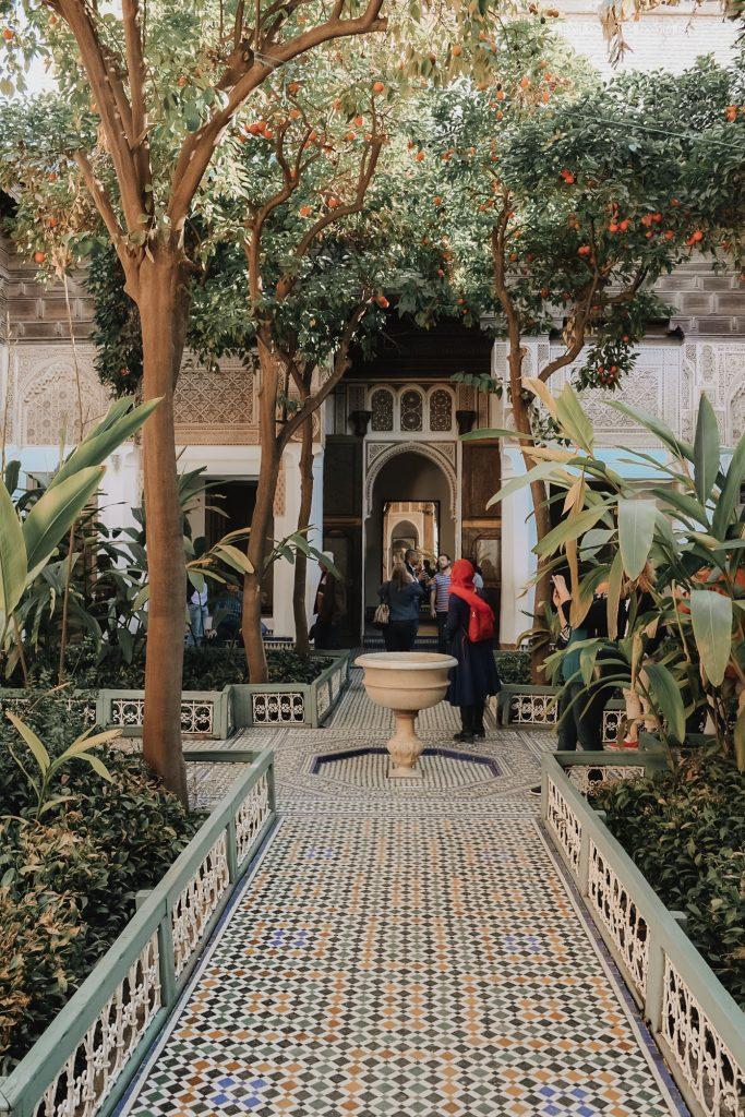 marrakech garden