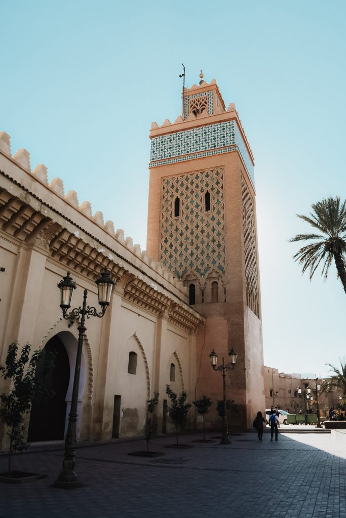 marrakech monument