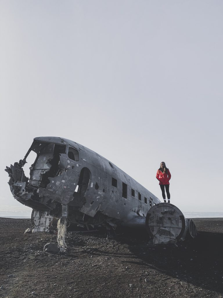 famous crashed airplane